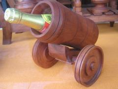 Bodeguero cañón de mesa