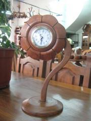 Reloj artesanal - girasol