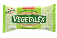 Milanesa tradicional de soja Vegetalex