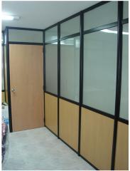 Paneles para dividir en oficinas