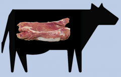 Centro de entraña de vaca