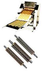Maquina para la elaboración y moldeo de galletas