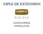 Niple de extensión