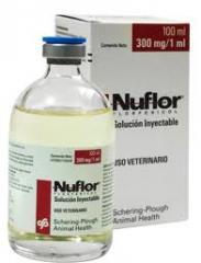 Antibióticos NUFLOR INY