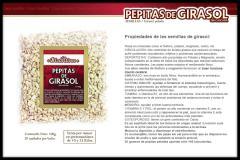 Pepitas de Girasol (Semillas peladas, sin cáscara) La Bizantina