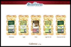 Galletitas x 135 Grs La Bizantina