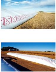 Bolsas de ensilado para grano seco