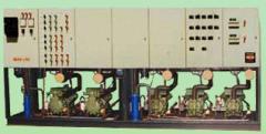 Centrales de frío a tornillos