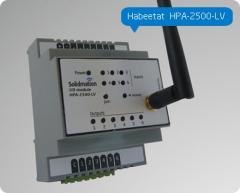 Módulo para Domótica de 6 entradas y 6 salidas a Relay de montaje riel DIN Habeetat® HPA-2500-LV