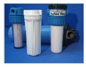 Carcazas para filtros purificadores de agua