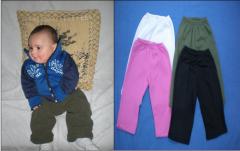 Pantalón bebé de algodón
