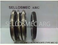 Sello mecánico monoresorte (Type MEC-G)