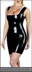 Mini Vestido de Latex