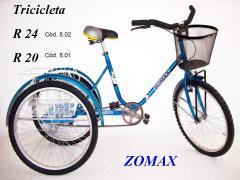 Tricicletas Rodado 20 y 24