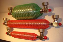 Cilindro tomamuestra bamboleta bamboletta sample cylinder natural gas