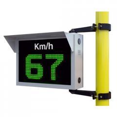 Indicador de velocidad LED