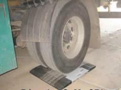 Báscula para ruedas de camiones Modelo