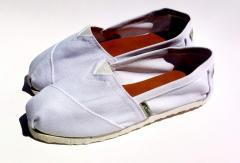 Alpargata Simpl White (Versión económicas)