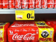 Coca cola lata x 33 cl packs x 24 uds