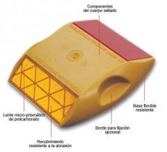 Tacha Reflectiva para Señalización Vial