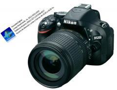 Nikon d5200 kit 18-105vr, sd 32 gb clase 10, bolso, garantía