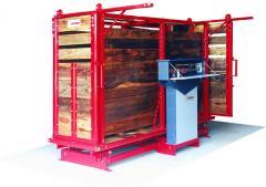 Balanza de hacienda 1500 kg de capacidad - EXTRA REFORZADA