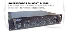 Amplificador profesional para música funcional Dumont A1306