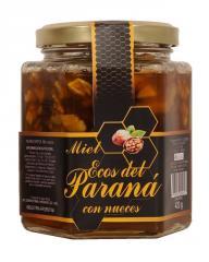 Miel con nueces x 420 gr.