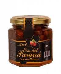 Miel con Avellanas x 210 gr.