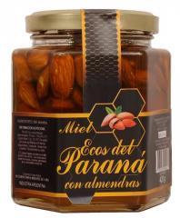 Miel con Almendras x 420 gr.
