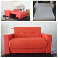 Sofa cama eco cuero