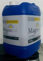 Sulfato de magnesio.