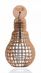Wooden Lampe