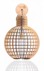 Wooden Lampe Old