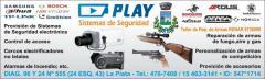 Seguridad electrónica y taller de reparación de armas.