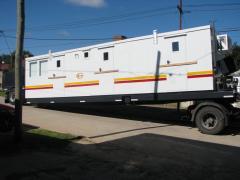 Trailer jefe de equipo -company man salas electrica -shelter