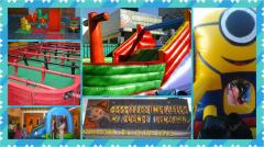 Fabricacion de juegos inflables de diseño y juegos de salón
