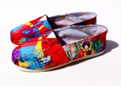 Canavas shoes / calzado casual DIseño Rad Pop
