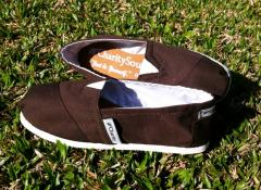 Canavas Shoes / Calzado Casual diseño clasico marron