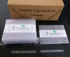 Paletinas plasticas  expendedora  aut. 105 mm