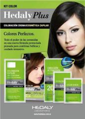 Kit de Coloración Capilar Hedaly Plus Complex Natural Color