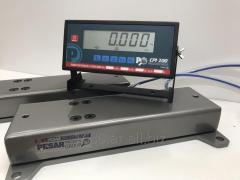 Scales for weighing animals