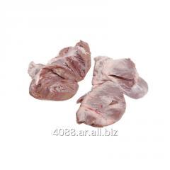 Corazón porcino congelado