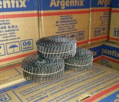 Clavo espiralado en rollo 22/40 mm - ARGENFIX®