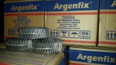 Clavo espiralado en rollo 25/40 mm - ARGENFIX®