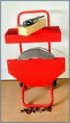 Dispensador para fleje metálico