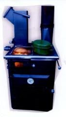 Cocina de combustion lineal combustible residuos