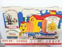 Tren calendario
