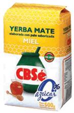 Yerba Mate CBSé Miel 0 % azúcar