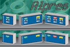 Monitor de presión con alarmas lumínicas y sonoras